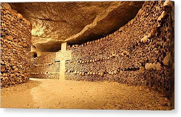 Paris Catacombs Canvas Print by Cco