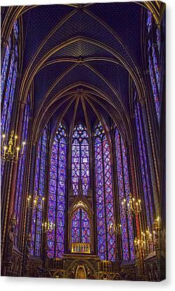 Paris Chapel Canvas Print by Andrew Soundarajan