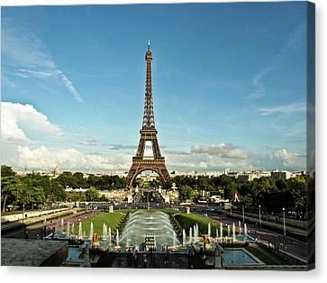Paris Canvas Print by Dian Qi