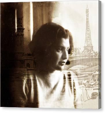 Paris Dreams Canvas Print by Jessica Jenney