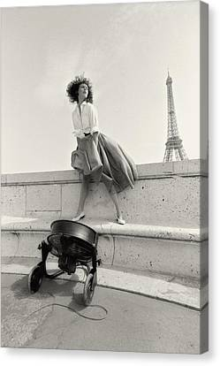 Paris Fashion Session Canvas Print by Philippe Taka