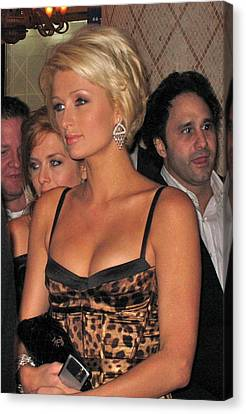 Paris Hilton  Canvas Print