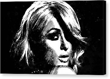 Paris Hilton S1 Canvas Print