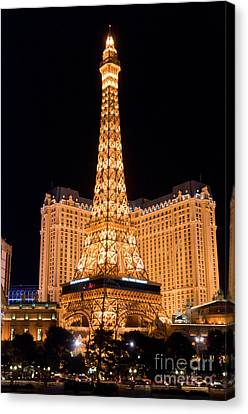 Paris Hotel Canvas Print by Andy Smy