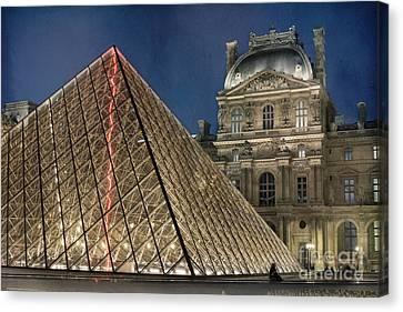 Paris Louvre Canvas Print