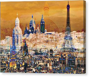 Paris Canvas Print by Lynda Payton