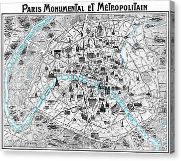 Paris Monumental Canvas Print
