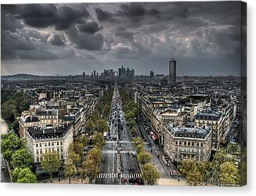 Paris No. 2 Canvas Print