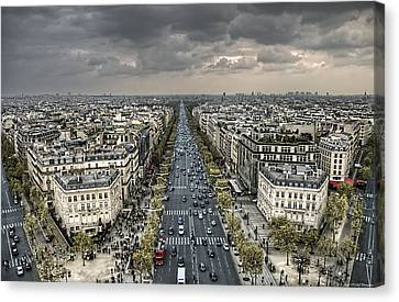 Paris No. 3 Canvas Print