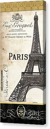 Paris, Ooh La La 1 Canvas Print