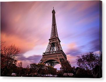Paris Pastels Canvas Print
