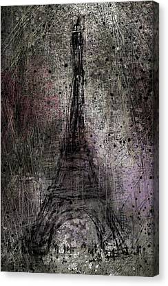 Paris Canvas Print by Rachel Christine Nowicki