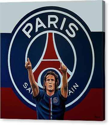 Parc Canvas Print - Paris Saint Germain Painting by Paul Meijering