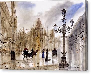 Paris Canvas Print by Svetlana and Sabir Gadghievs