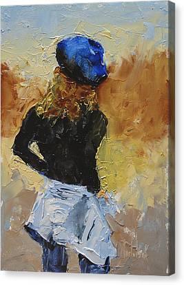 Parisian Canvas Print by Barbara Andolsek