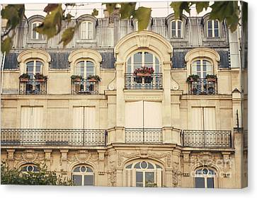 Parisian Home Canvas Print