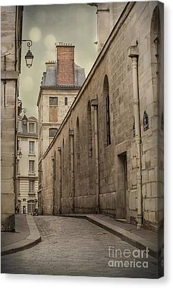 City Streets Canvas Print - Parisian Street by Juli Scalzi
