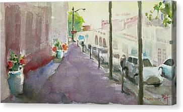 Park Avenue 3 Canvas Print