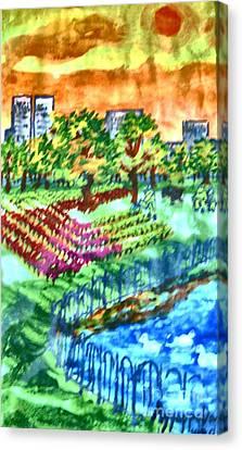 Park-avenue Canvas Print by Ayyappa Das