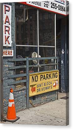 Park Here Canvas Print by Art Ferrier