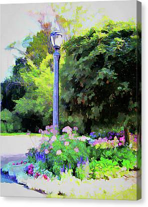 Park Light Canvas Print