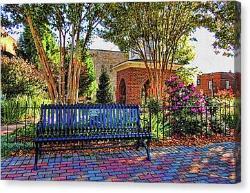 Park On Main 2 Canvas Print by HH Photography of Florida