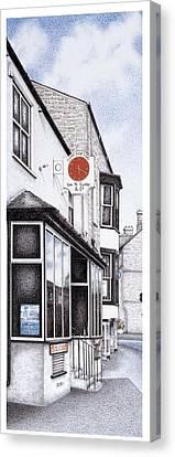 Park Road Clock Canvas Print