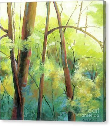 Park Walk 3 Canvas Print