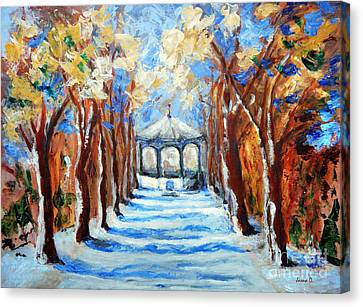 Park Zrinjevac Canvas Print by Jasna Dragun