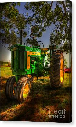 Parked John Deere Canvas Print by Michael Eingle
