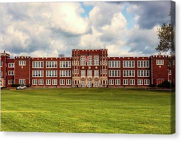 Parkersburg High School - West Virginia Canvas Print by L O C