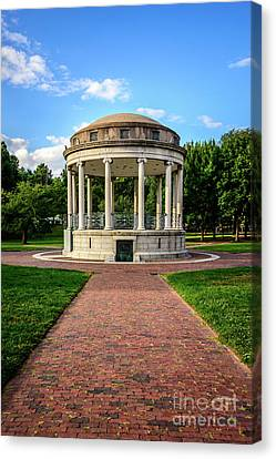 Parkman Bandstand At Boston Common Canvas Print by Paul Velgos