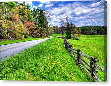 Parkway Spring Canvas Print
