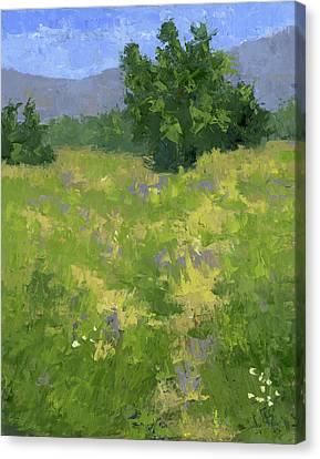 Parkway Spring Oil Canvas Print