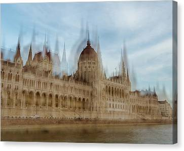 Canvas Print featuring the photograph Parliamentary Procedure by Alex Lapidus