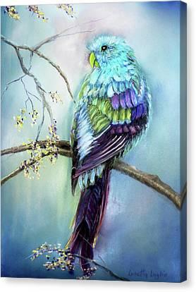 Parrot Canvas Print by Loretta Luglio