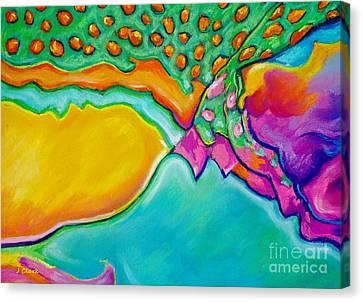 Parrotfish 2 Canvas Print by John Clark