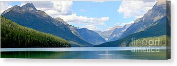 Partly Cloudy At Bowman Canvas Print by Adam Jewell