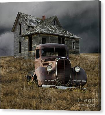 Partners In Time Canvas Print by Bob Christopher