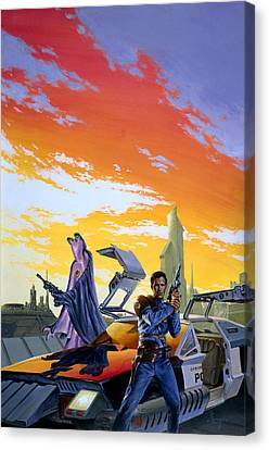 Partners  Canvas Print by Richard Hescox