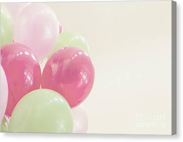 Party Balloons Canvas Print by Cindy Garber Iverson
