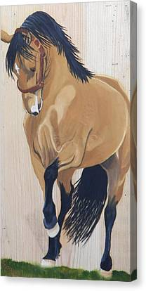 Paso Fino Canvas Print by Debbie LaFrance