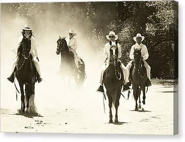 Paso Horse Riders Canvas Print