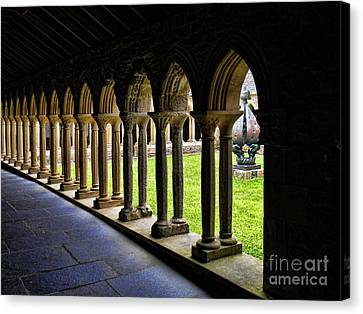 Canvas Print featuring the photograph Passage To The Ancient by Roberta Byram