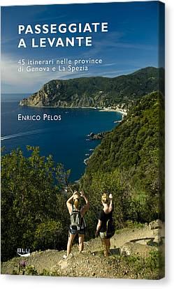 Passeggiate A Levante - The Book By Enrico Pelos Canvas Print
