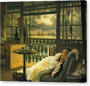 Passing Storm 1876 Canvas Print by Padre Art