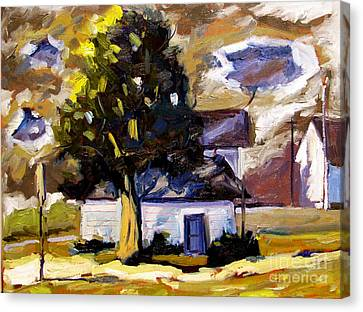 Artistic License Canvas Print - Passing Storm by Charlie Spear