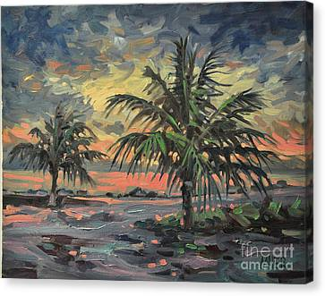 Passing Storm Canvas Print by Donald Maier