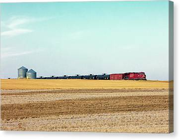 Passing Through Canvas Print by Todd Klassy