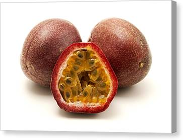 Passion Fruit Canvas Print - Passion Fruits by Fabrizio Troiani